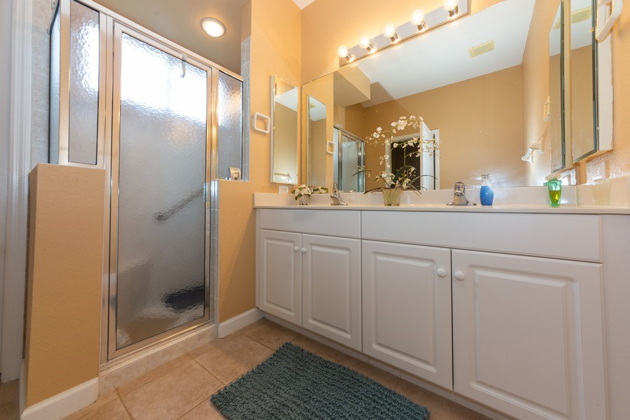 Real Estate Photography - 14242 Reflection Lakes Dr., Fort Myers, FL, 33907 - Master Bathroom
