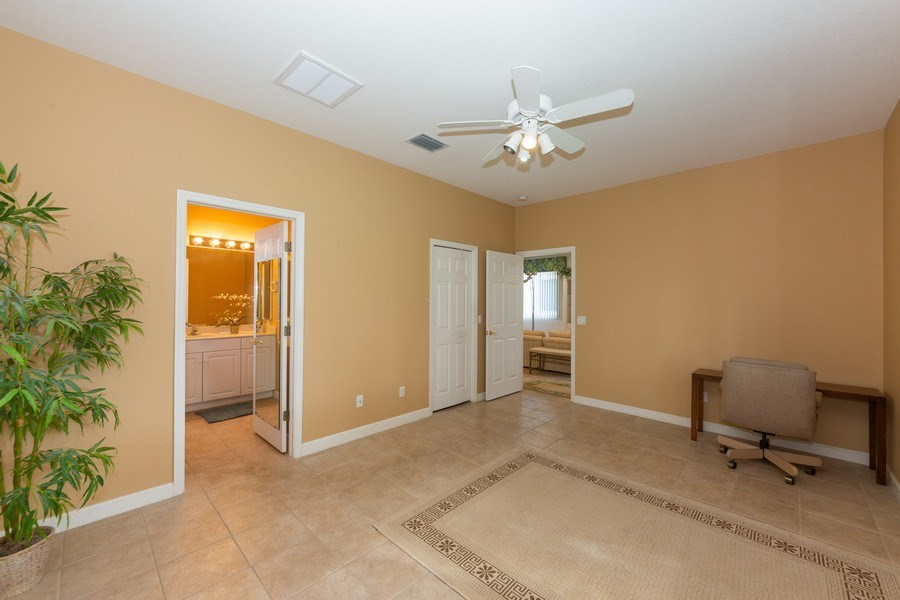 Real Estate Photography - 14242 Reflection Lakes Dr., Fort Myers, FL, 33907 - Master Bedroom