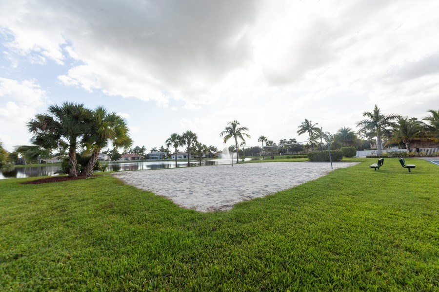 Real Estate Photography - 14242 Reflection Lakes Dr., Fort Myers, FL, 33907 - Volleyball Court