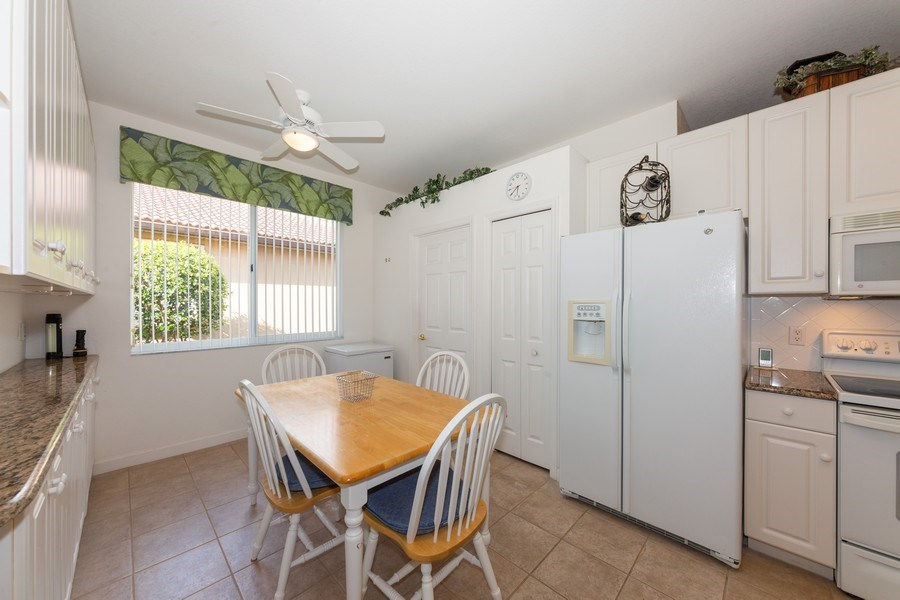 Real Estate Photography - 14242 Reflection Lakes Dr., Fort Myers, FL, 33907 - Breakfast Area