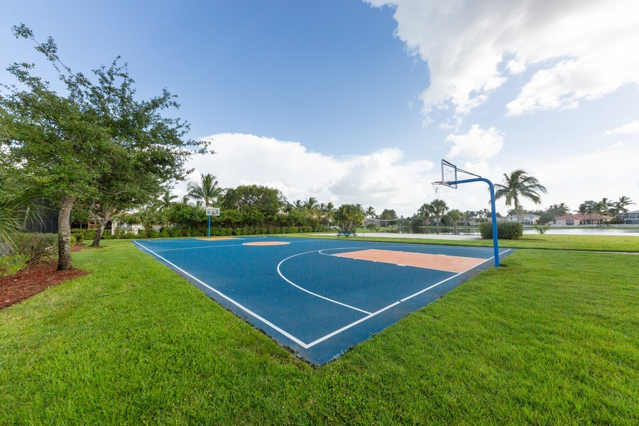 Real Estate Photography - 14242 Reflection Lakes Dr., Fort Myers, FL, 33907 - Basketball Court