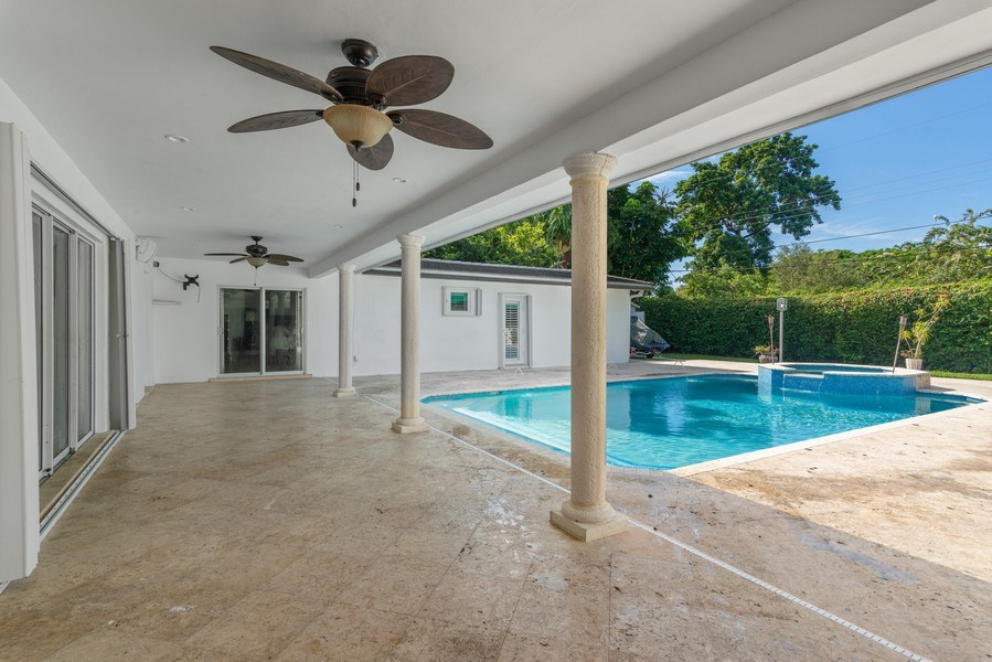 Real Estate Photography - 7670 SW 129th St., Pinecrest, FL, 33156 - Terrace
