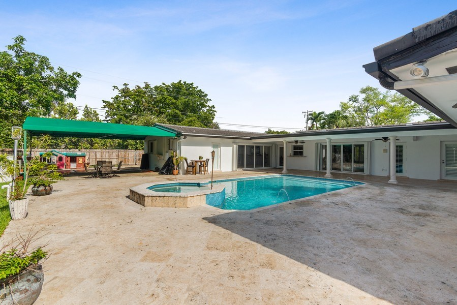 Real Estate Photography - 7670 SW 129th St., Pinecrest, FL, 33156 - Terrace 2