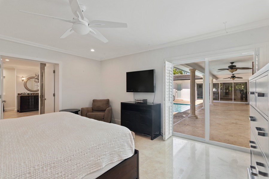 Real Estate Photography - 7670 SW 129th St., Pinecrest, FL, 33156 - Master Bedroom