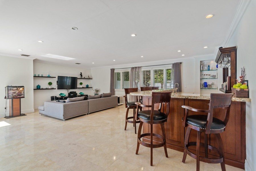 Real Estate Photography - 7670 SW 129th St., Pinecrest, FL, 33156 - Great Room
