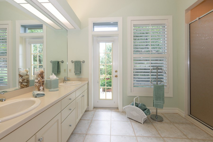 Real Estate Photography - 409 Rosemeade Lane, Naples, FL, 34105 - 3rd Bathroom