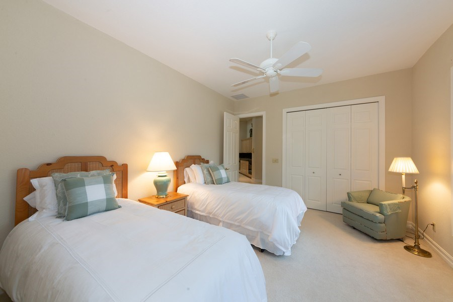 Real Estate Photography - 409 Rosemeade Lane, Naples, FL, 34105 - 3rd Bedroom