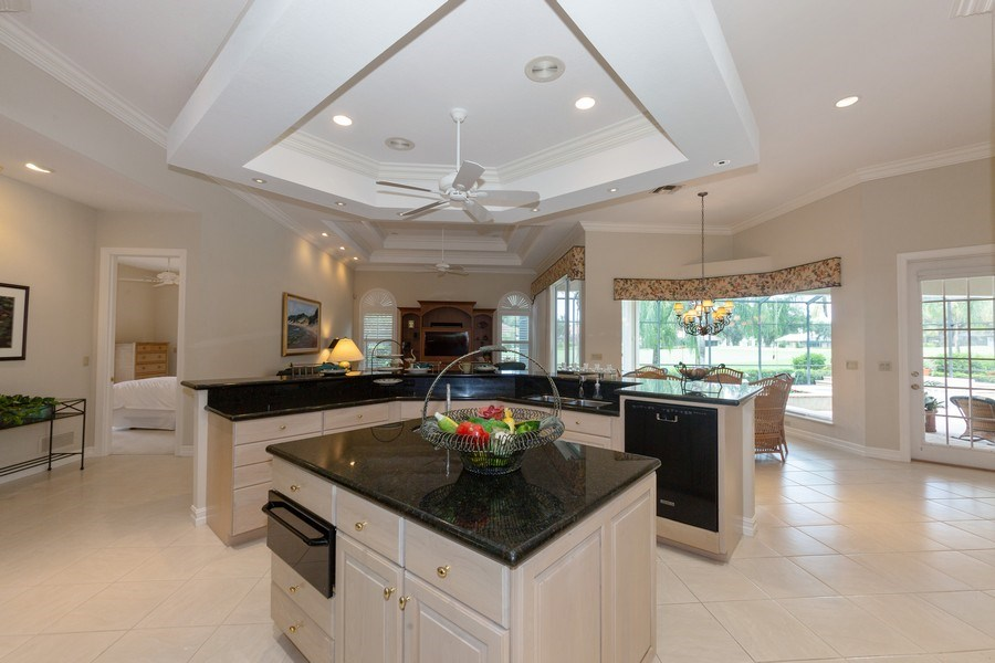 Real Estate Photography - 409 Rosemeade Lane, Naples, FL, 34105 - Kitchen