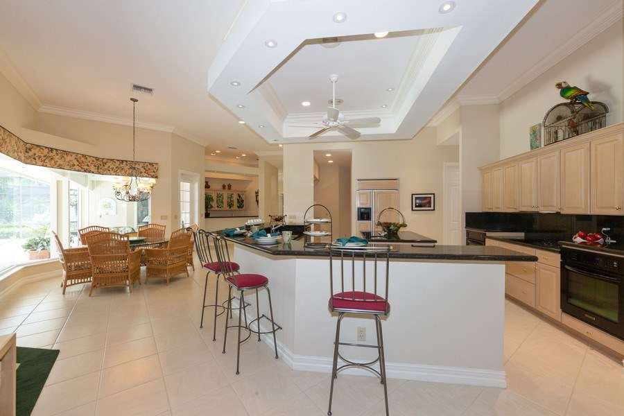 Real Estate Photography - 409 Rosemeade Lane, Naples, FL, 34105 - Kitchen / Breakfast Room