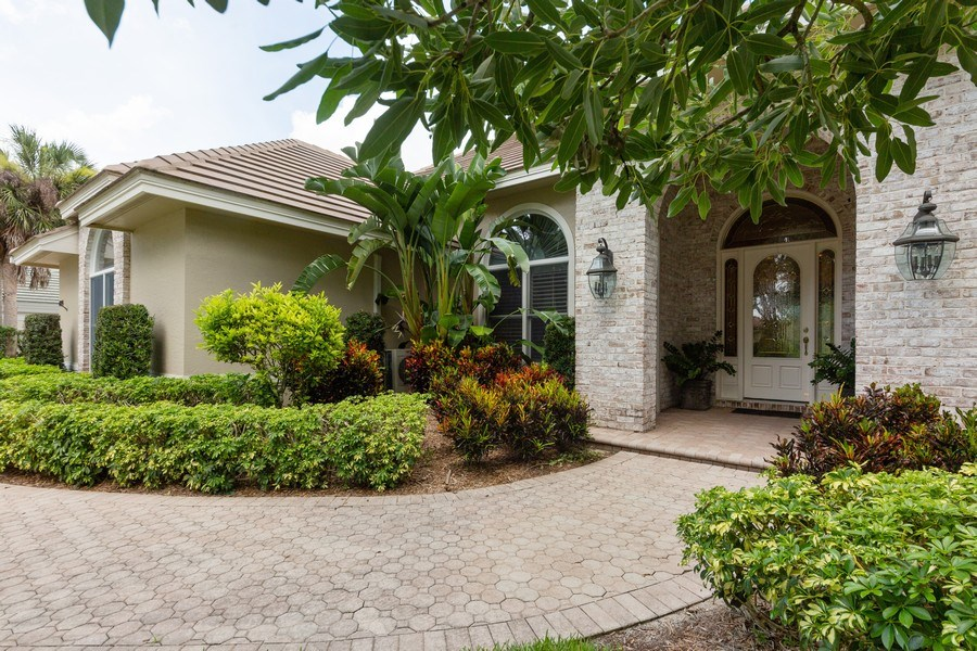 Real Estate Photography - 409 Rosemeade Lane, Naples, FL, 34105 - Entrance