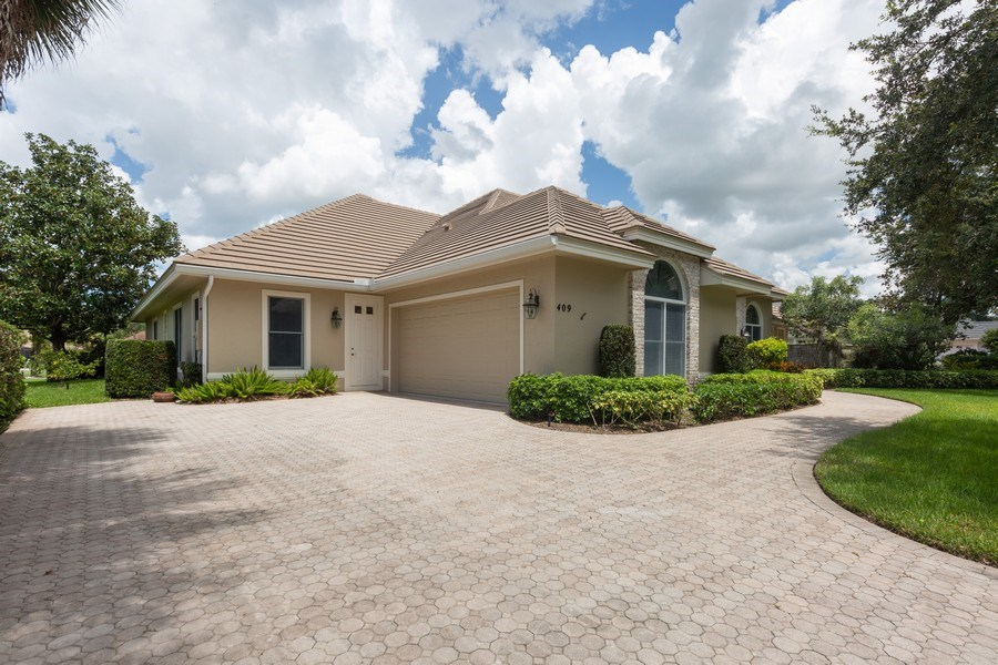 Real Estate Photography - 409 Rosemeade Lane, Naples, FL, 34105 - Garage