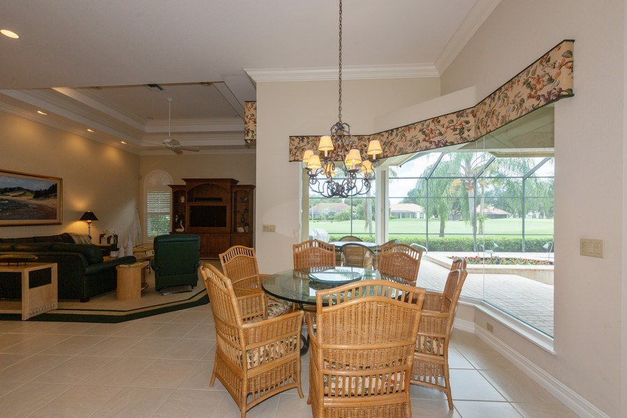 Real Estate Photography - 409 Rosemeade Lane, Naples, FL, 34105 - Breakfast Area