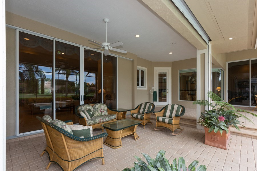 Real Estate Photography - 409 Rosemeade Lane, Naples, FL, 34105 - Porch