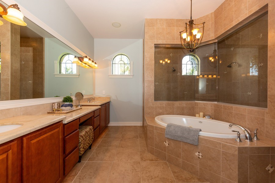 Real Estate Photography - 16079 Waterleaf Lane, Fort Myers, FL, 33908 - Master Bathroom