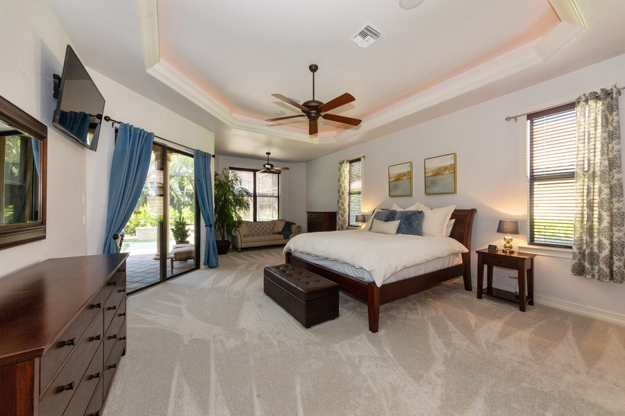 Real Estate Photography - 16079 Waterleaf Lane, Fort Myers, FL, 33908 - Master Bedroom