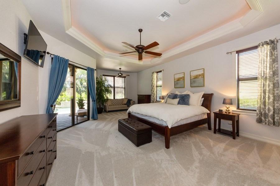 Real Estate Photography - 16079 Waterleaf Lane, Fort Myers, FL, 33908 - Master Bedroom