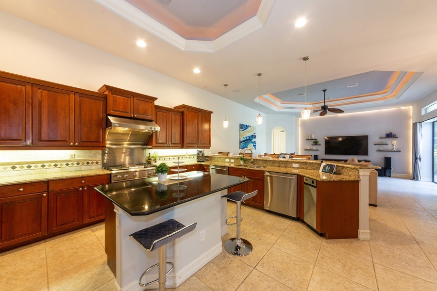 Real Estate Photography - 16079 Waterleaf Lane, Fort Myers, FL, 33908 - Kitchen