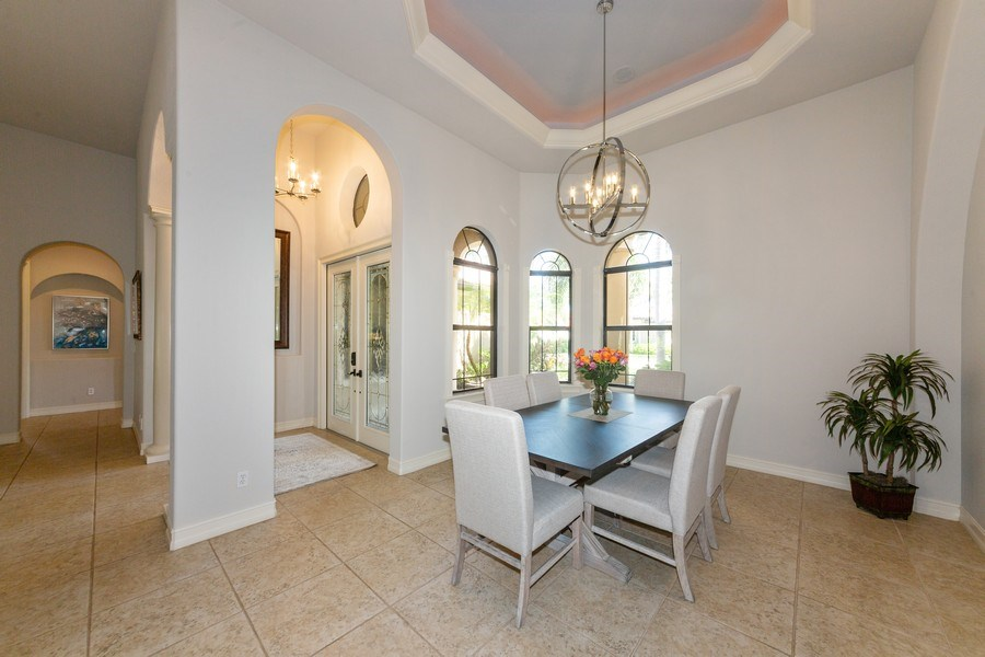 Real Estate Photography - 16079 Waterleaf Lane, Fort Myers, FL, 33908 - Dining Room