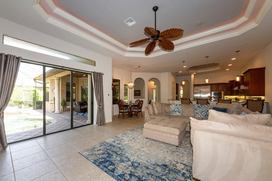 Real Estate Photography - 16079 Waterleaf Lane, Fort Myers, FL, 33908 - Great room