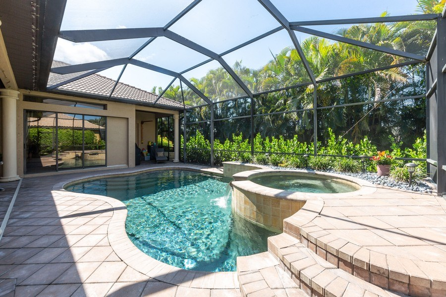 Real Estate Photography - 16079 Waterleaf Lane, Fort Myers, FL, 33908 - Pool