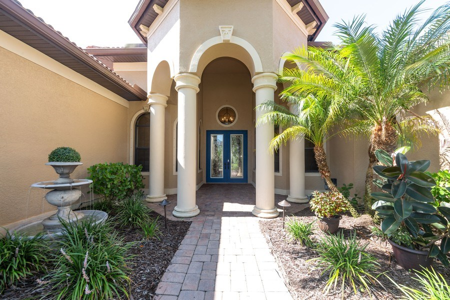 Real Estate Photography - 16079 Waterleaf Lane, Fort Myers, FL, 33908 - Entrance