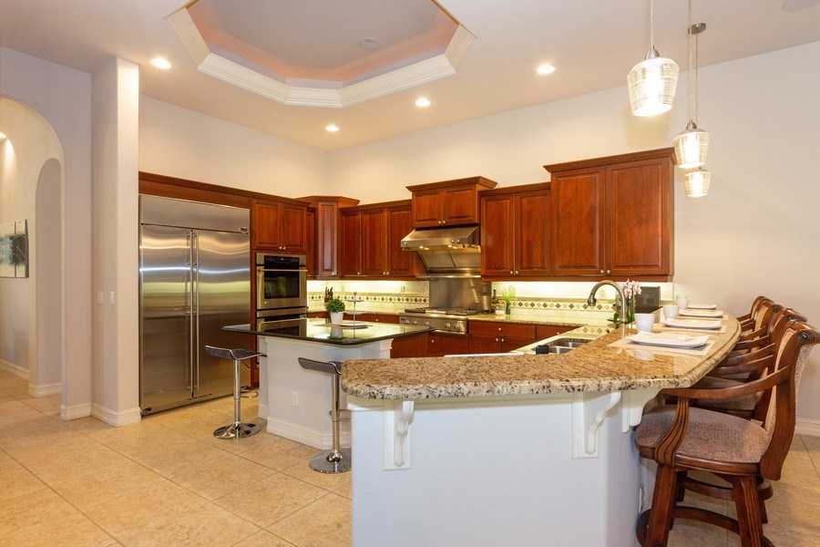 Real Estate Photography - 16079 Waterleaf Lane, Fort Myers, FL, 33908 - Kitchen