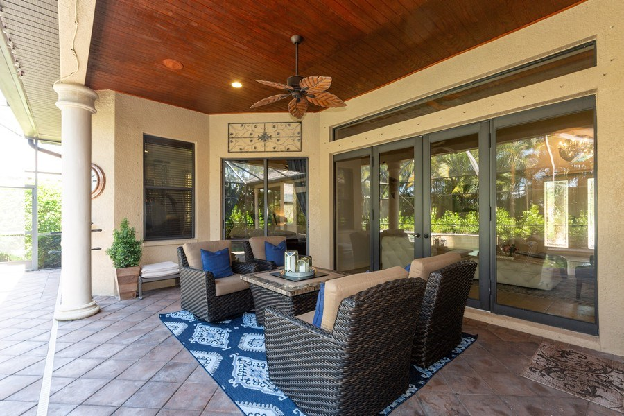 Real Estate Photography - 16079 Waterleaf Lane, Fort Myers, FL, 33908 - Patio