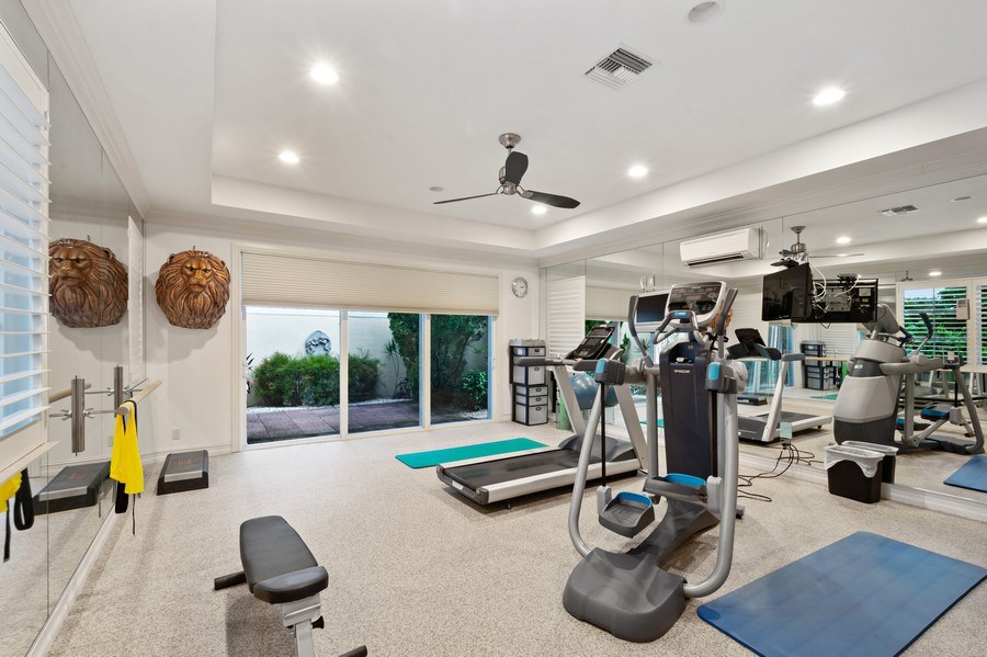 Real Estate Photography - 16466 Brookfield Estates Way, Delray Beach, FL, 33446 - Exercise Room