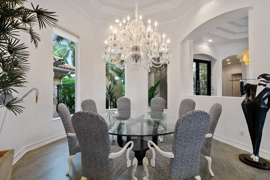 Real Estate Photography - 16466 Brookfield Estates Way, Delray Beach, FL, 33446 - Dining Room
