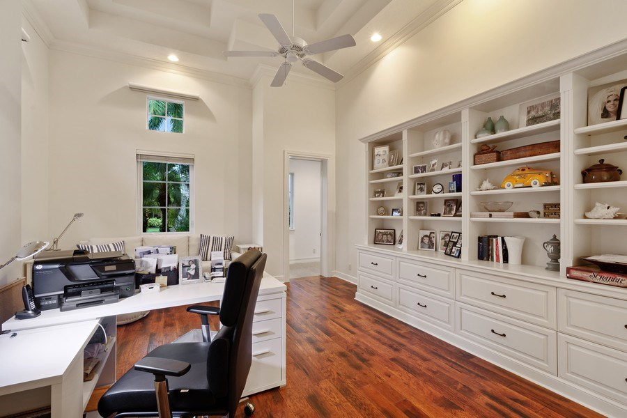 Real Estate Photography - 16466 Brookfield Estates Way, Delray Beach, FL, 33446 - Office