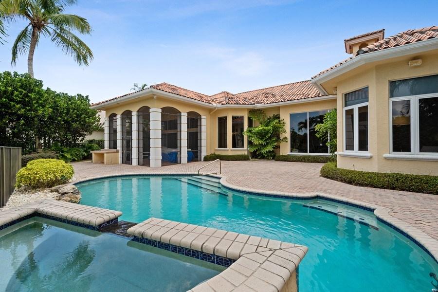 Real Estate Photography - 16466 Brookfield Estates Way, Delray Beach, FL, 33446 - Rear View