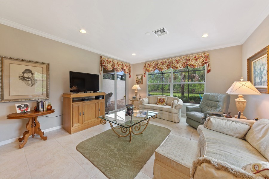 Real Estate Photography - 10736 Cetrella Dr, Fort Myers, FL, 33913 - Living Room