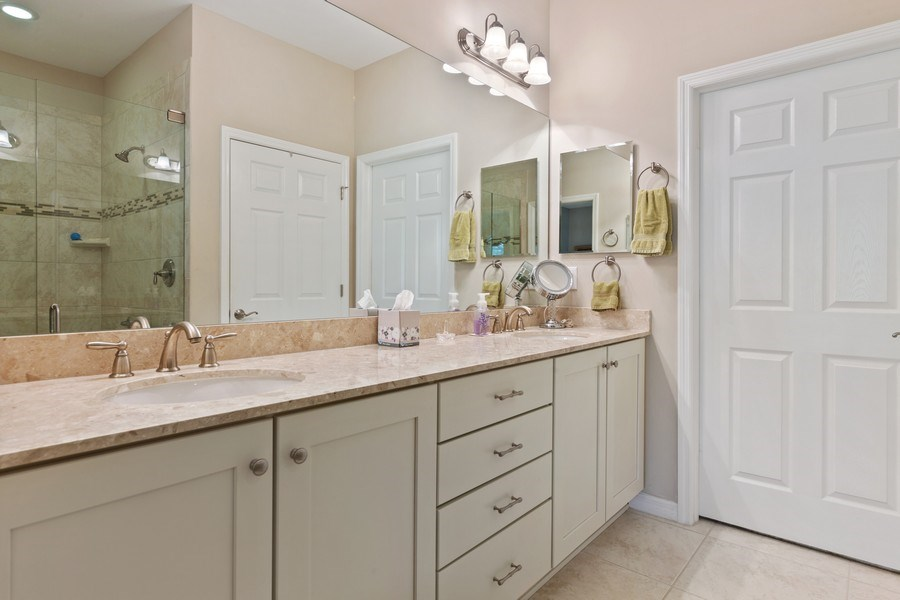 Real Estate Photography - 10736 Cetrella Dr, Fort Myers, FL, 33913 - Master Bathroom
