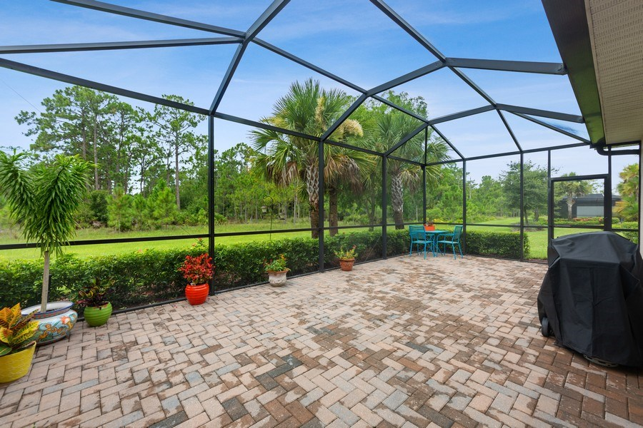 Real Estate Photography - 10736 Cetrella Dr, Fort Myers, FL, 33913 - Lanai