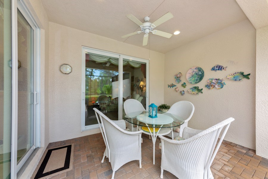 Real Estate Photography - 10736 Cetrella Dr, Fort Myers, FL, 33913 - Patio