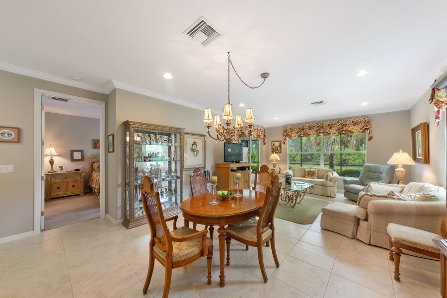 Real Estate Photography - 10736 Cetrella Dr, Fort Myers, FL, 33913 - Living Room/Dining Room