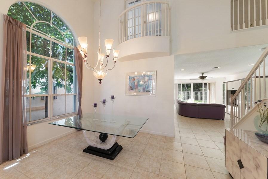 Real Estate Photography - 12629 Colony Preserve Dr., Boynton Beach, FL, 33436 - Dining Room