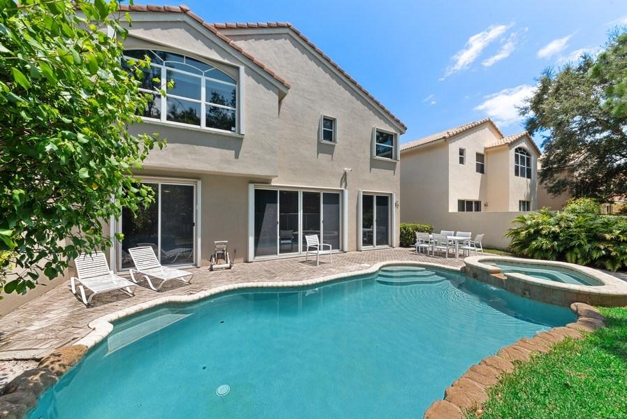 Real Estate Photography - 12629 Colony Preserve Dr., Boynton Beach, FL, 33436 - Rear View