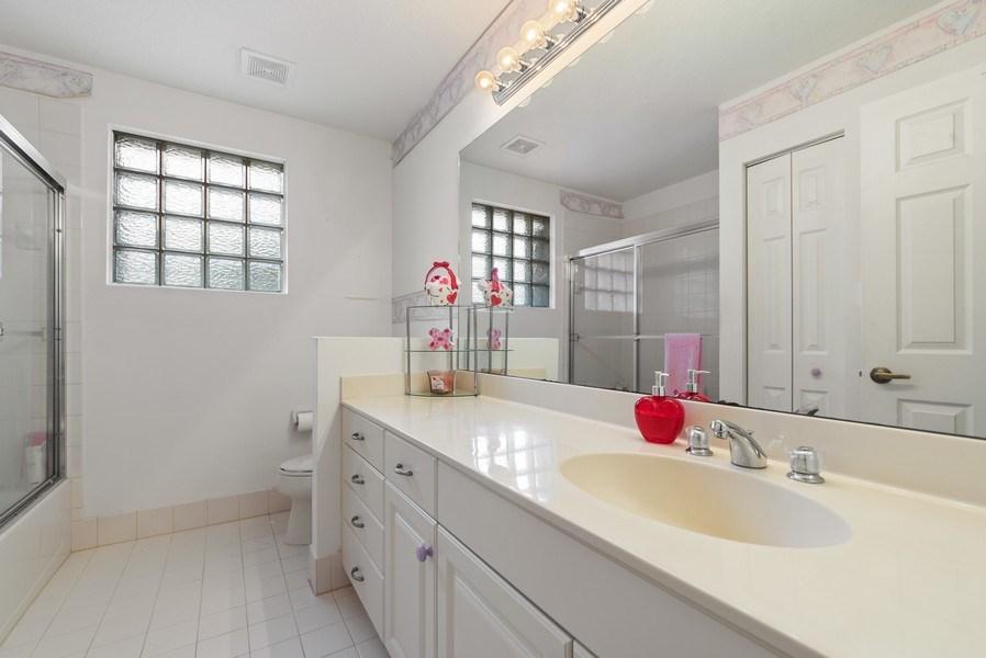 Real Estate Photography - 12629 Colony Preserve Dr., Boynton Beach, FL, 33436 - Upstairs Bathroom