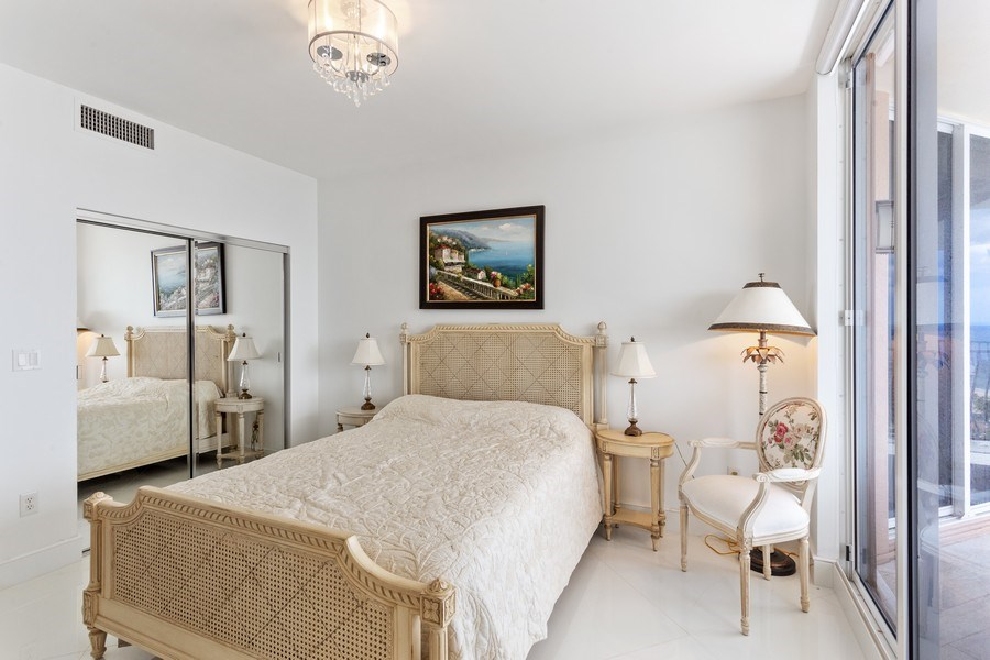 Real Estate Photography - 100 South Birch Road #2404E, Fort Lauderdale, FL, 33316 - 2nd Bedroom