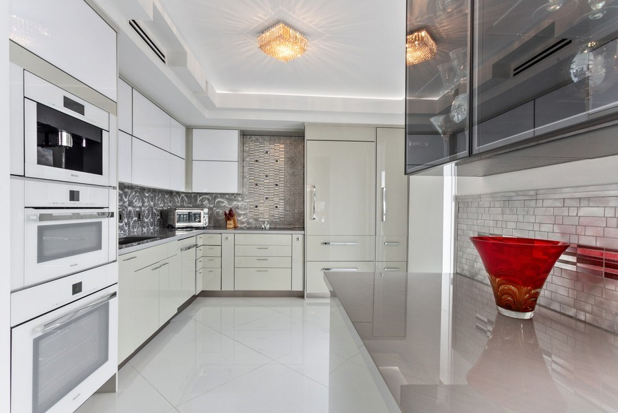 Real Estate Photography - 100 South Birch Road #2404E, Fort Lauderdale, FL, 33316 - Kitchen