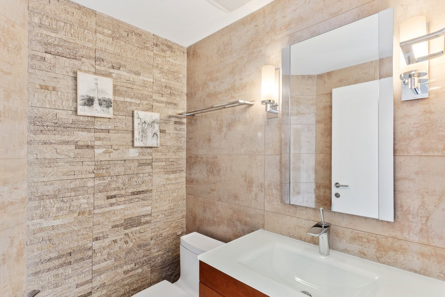 Real Estate Photography - 100 South Birch Road #2404E, Fort Lauderdale, FL, 33316 - Half Bath
