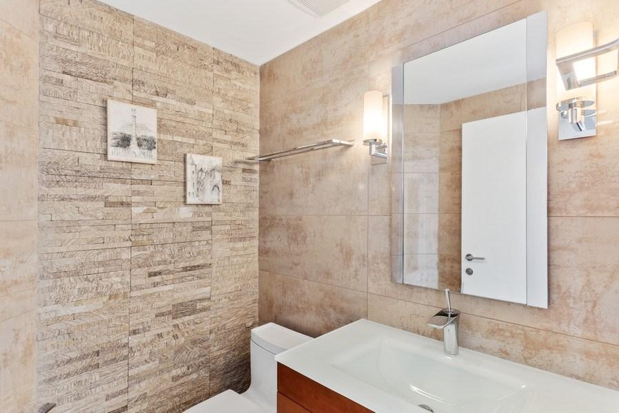 Real Estate Photography - 100 South Birch Road #2404E, Fort Lauderdale, FL, 33316 - Half Bath