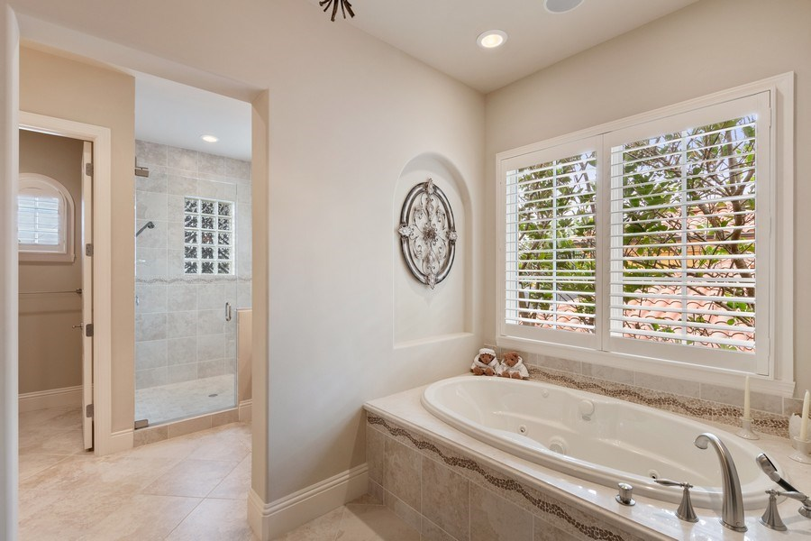 Real Estate Photography - 2947 Tiburon Blvd. E., Naples, FL, 34109 - Master Bathroom