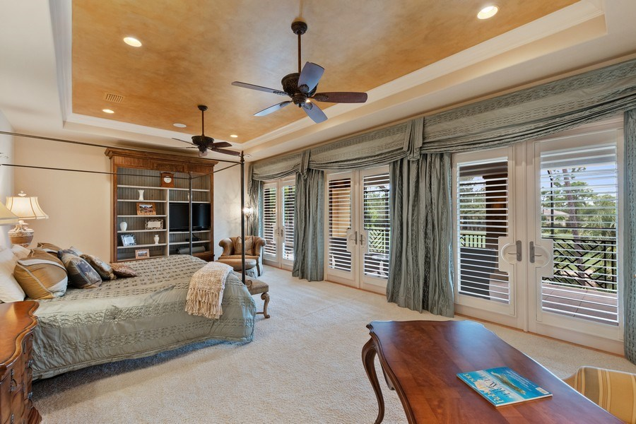 Real Estate Photography - 2947 Tiburon Blvd. E., Naples, FL, 34109 - Master Bedroom