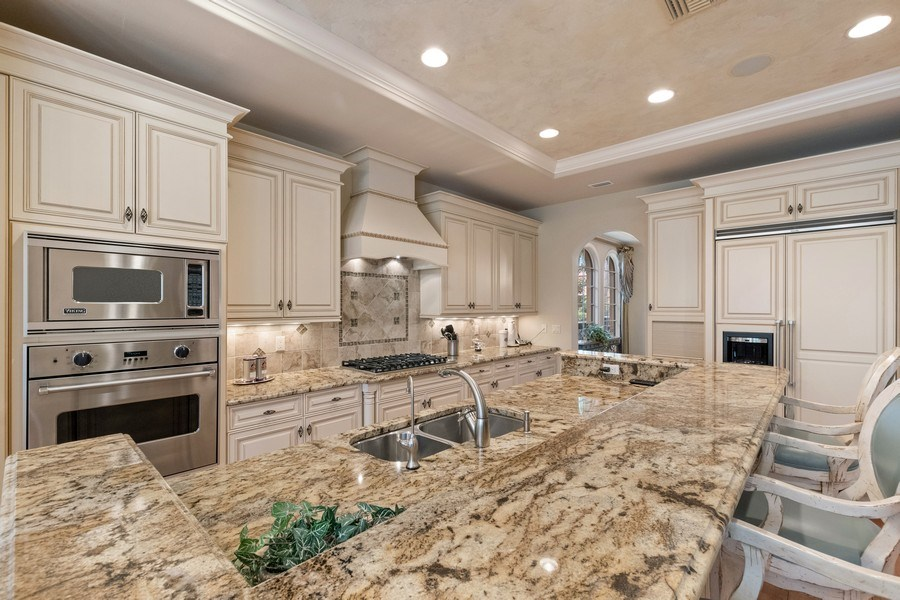 Real Estate Photography - 2947 Tiburon Blvd. E., Naples, FL, 34109 - Kitchen