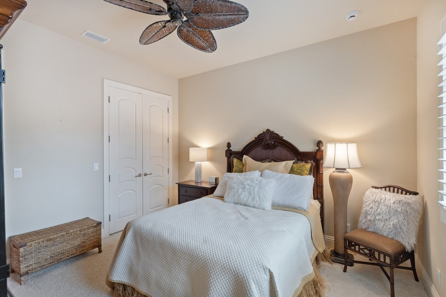 Real Estate Photography - 2947 Tiburon Blvd. E., Naples, FL, 34109 - Bedroom