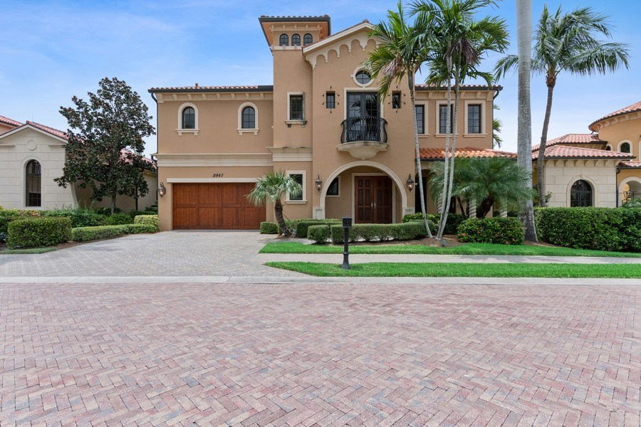 Real Estate Photography - 2947 Tiburon Blvd. E., Naples, FL, 34109 - Front View