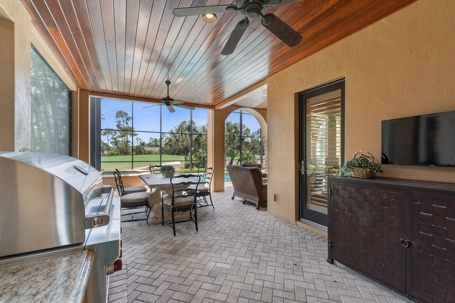 Real Estate Photography - 2947 Tiburon Blvd. E., Naples, FL, 34109 - Patio