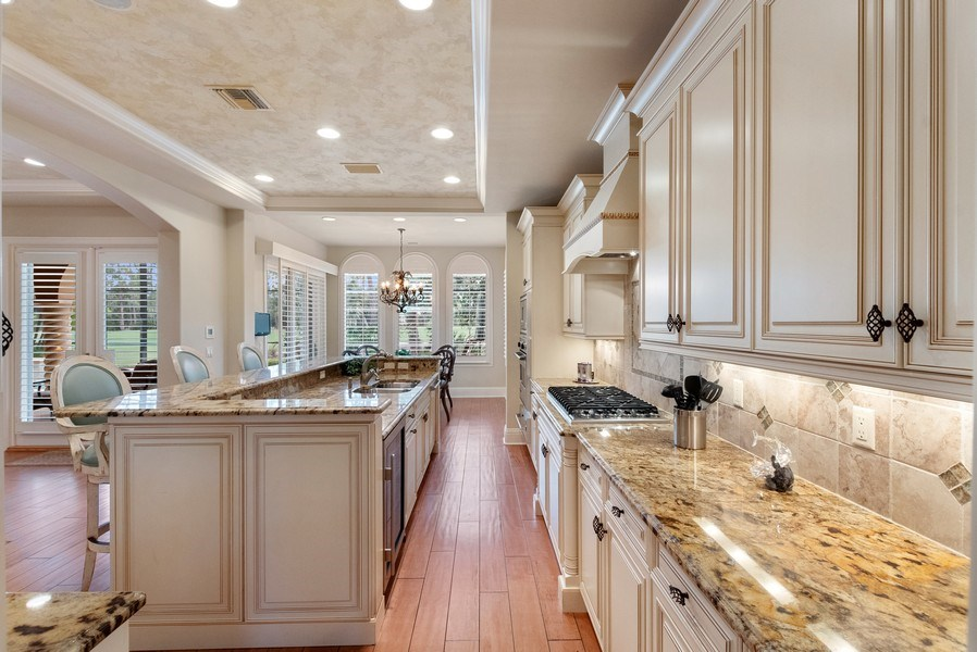 Real Estate Photography - 2947 Tiburon Blvd. E., Naples, FL, 34109 - Kitchen/Living